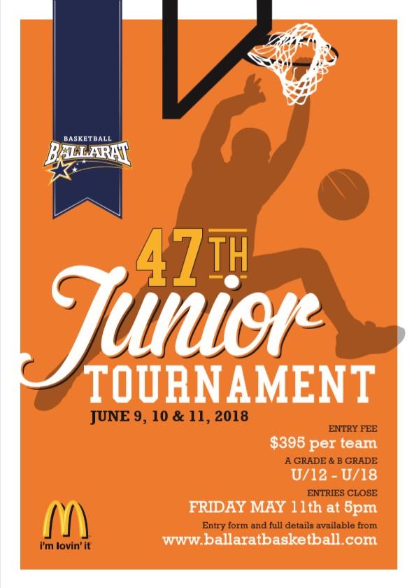 Junior Tourny Poster