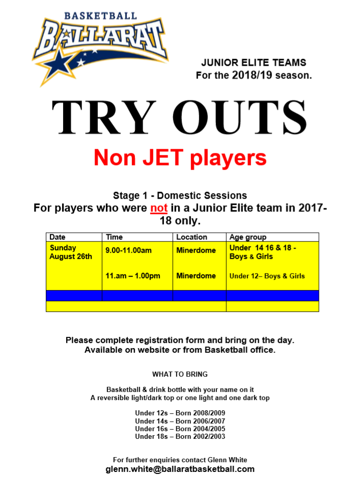 =try out