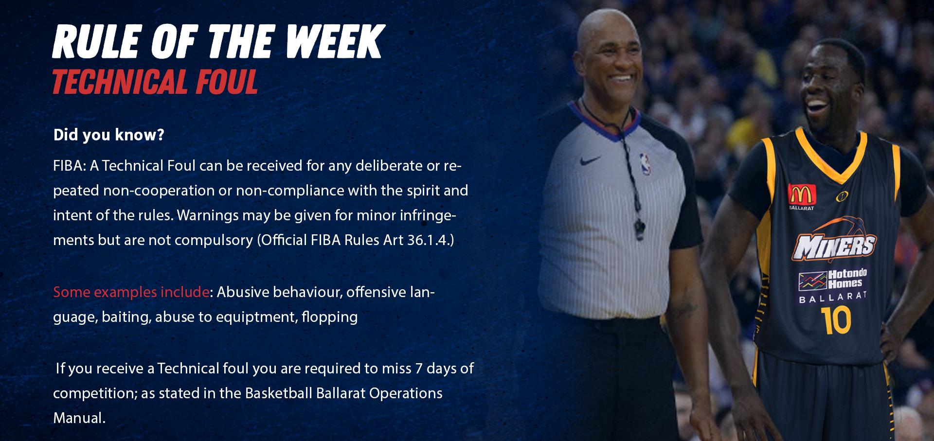 Rule of the week image website