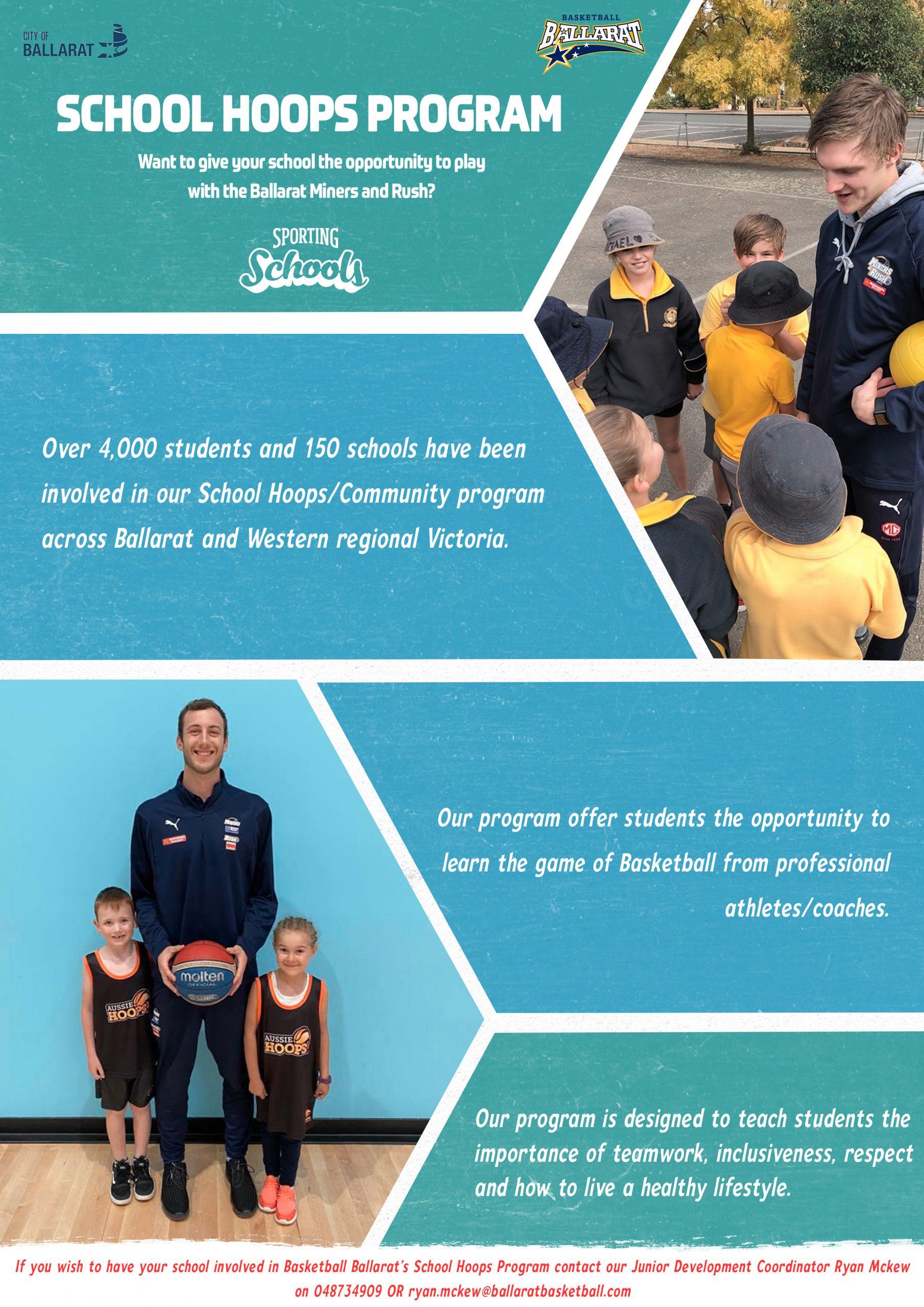 2020 Sporting schools poster