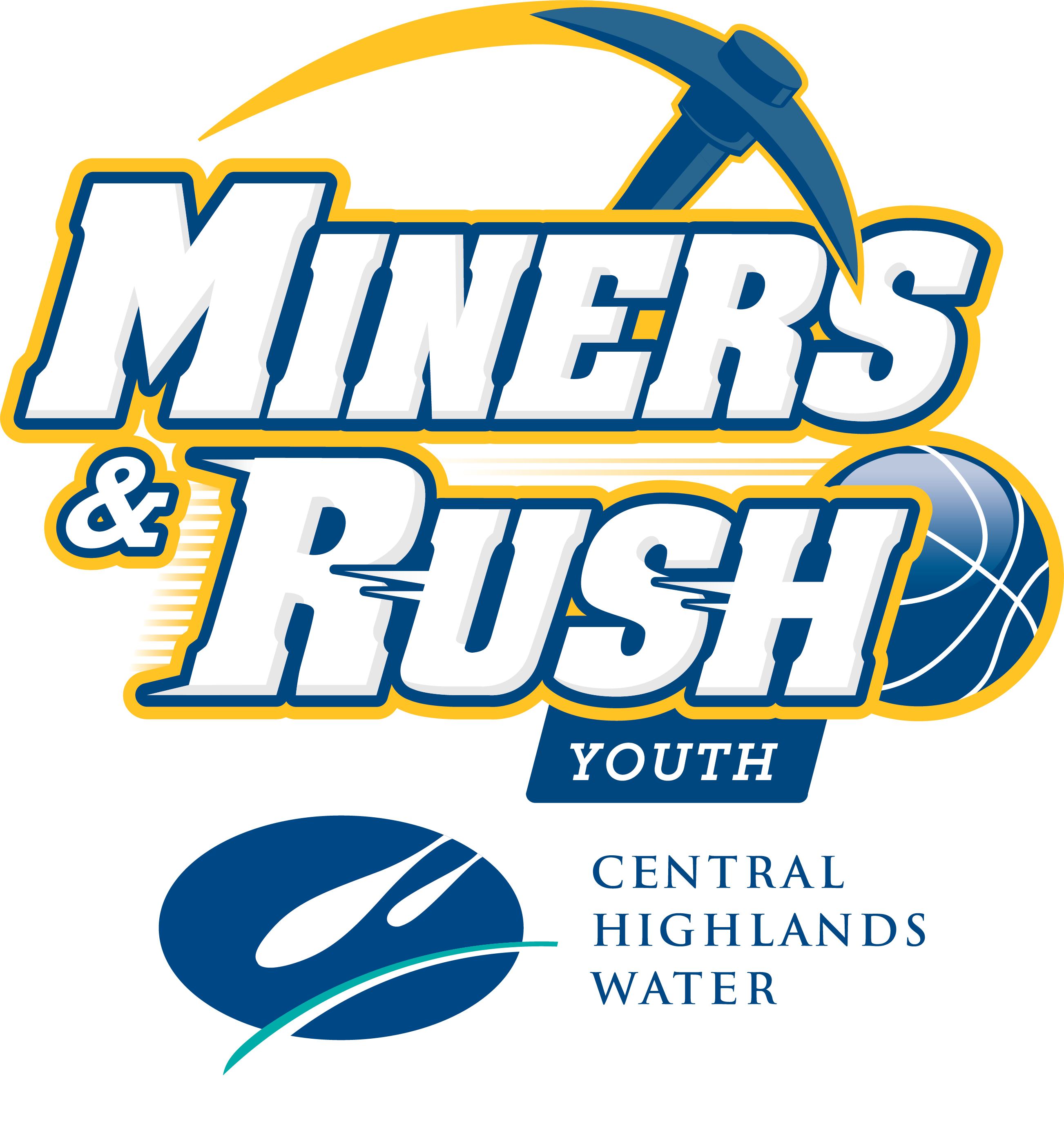 Miners and Rush Youth Logo CHW