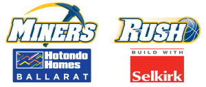 Hotondo Homes Ballarat Miners & Selkirk Rush Senior Elite Team - Joint Logo
