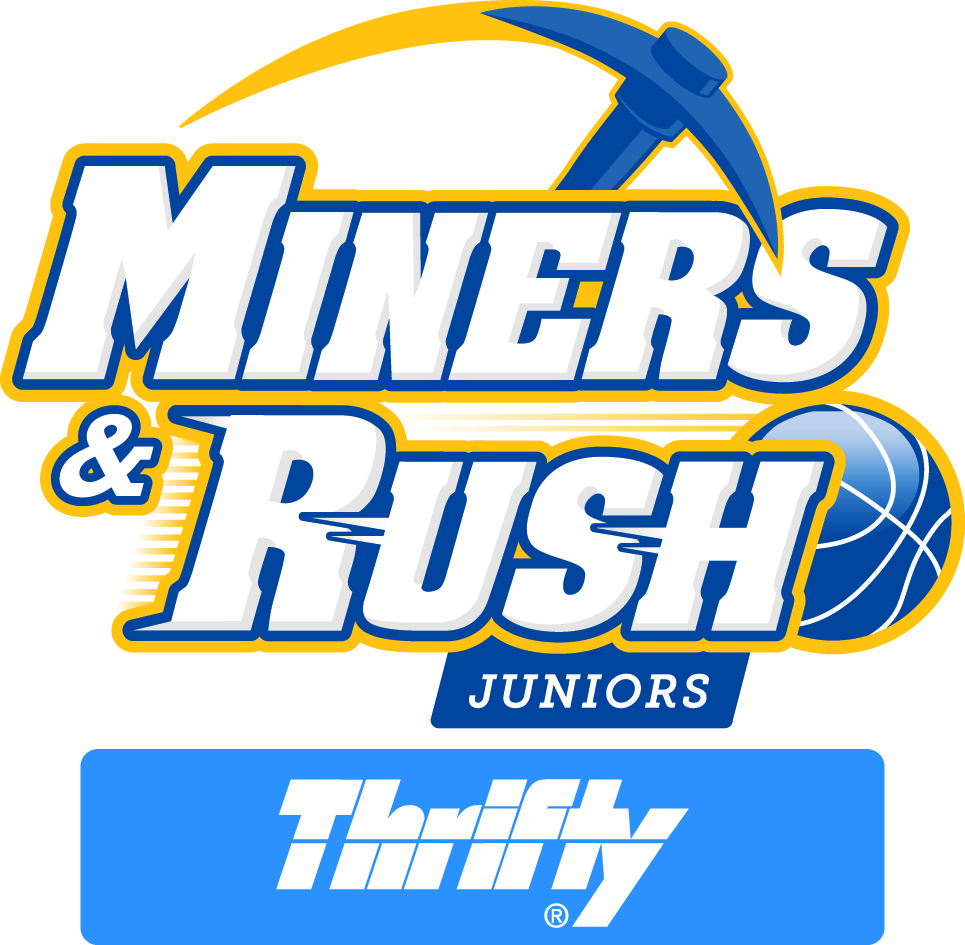 Thrifty Miners and Rush Logos