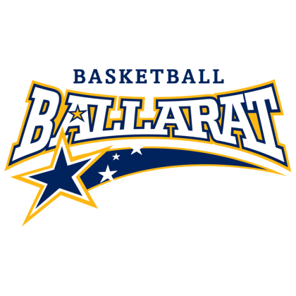 Basketball Ballarat Logo Blue square
